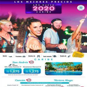 ¡Recibe el Año Nuevo 2020 en los mejores destinos que tenemos para ti! con Viajes BEAUCE.