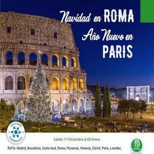 Disfruta de Navidad en ROMA y Año Nuevo en PARÍS con Viajes BEAUCE.