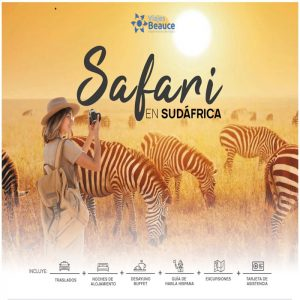 Vive el mejor Safari en Sudáfrica, en compañía de Viajes BEAUCE..