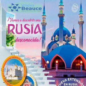 ¡Destinos que te sorprenderán! ¡Descubre Rusia con Viajes BEAUCE..