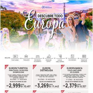 Descubre todo Europa..Promoción de Temporada baja con Viajes BEAUCE..