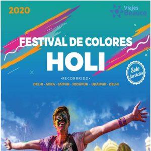¡HOLI, FESTIVAL DEL COLOR EN LA INDIA! con Viajes BEAUCE.