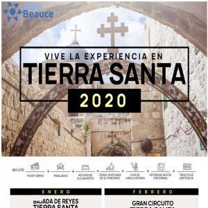 Vive la experiencia en Tierra Santa 2020..Reserva AHORA con Viajes BEAUCE..