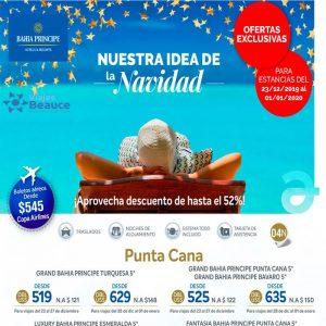 ¡Celebra Navidad y Año Nuevo con Bahia Principe! ¡No te lo pierdas! Viajes BEAUCE.