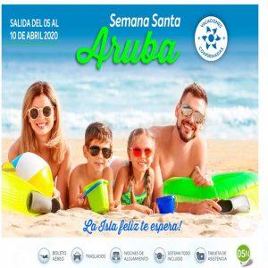 ¡Disfruta de Semana Santa en Aruba 2020!con Viajes BEAUCE..