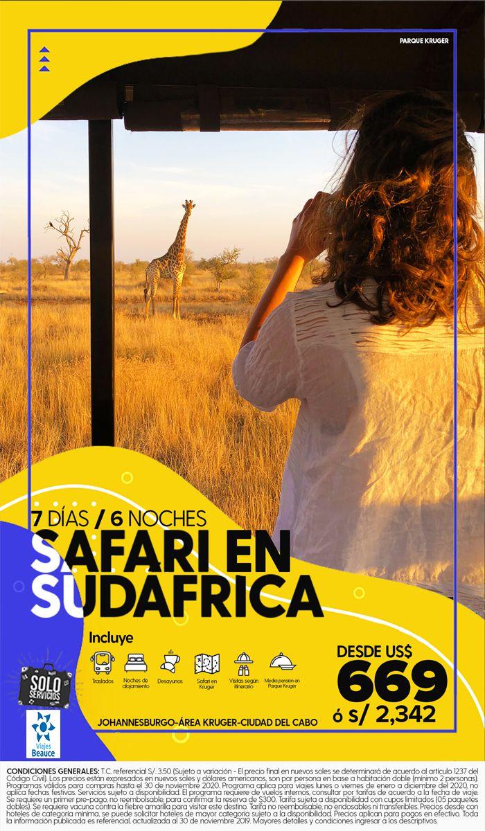 Vive la aventura de un Safari en Sudáfrica! 😱 con Viajes BEAUCE.