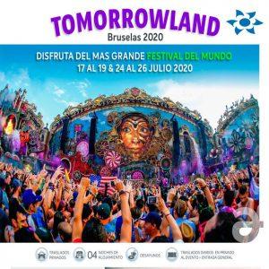 ¡Nos vamos a Tomorrowland – Bruselas 2020! con Viajes BEAUCE.