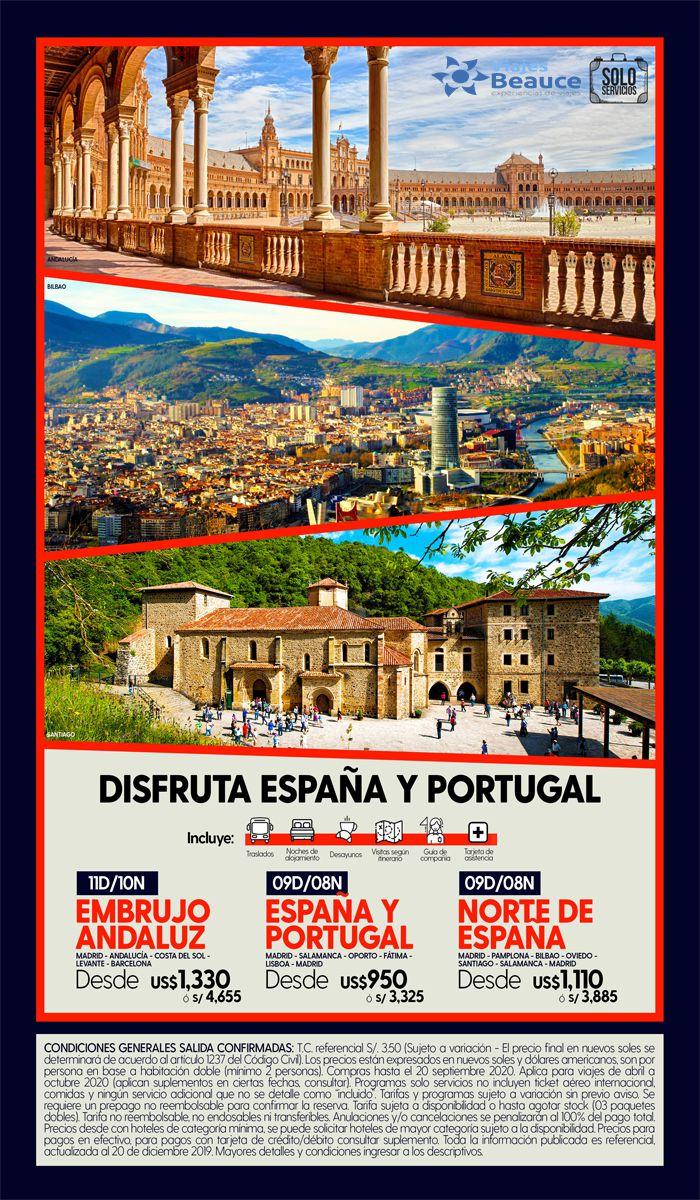 Conoce España y Portugal a fondo! con Viajes BEAUCE..