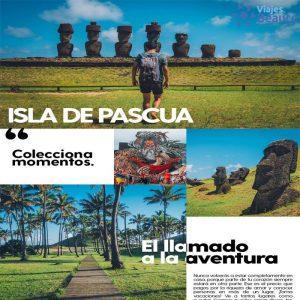 Misterio y Naturaleza en la Isla de Pascua! 👨👩 con Viajes BEAUCE.