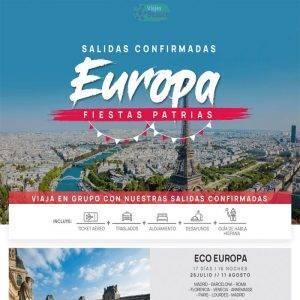 Aprovecha las Salidas confirmadas a Europa… Reserva ya en Viajes BEAUCE..