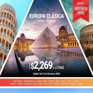 Disfruta de Europa Clásica con la Salidas confirmadas con Viajes BEAUCE.