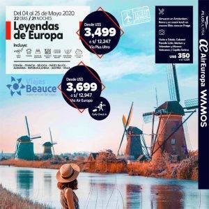 Increíble aventura: tour 8 países de Europa! 🎑💝 con Viajes BEAUCE.