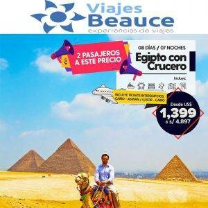 EGIPTO 2X1! NO LO DUDES MÁS! 👨👩👲 con Viajes BEAUCE..