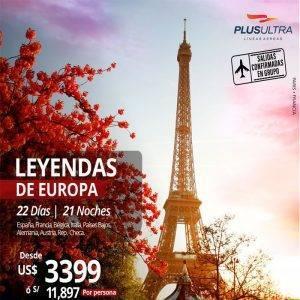Vive las míticas LEYENDAS DE EUROPA 😃✈ disfrútalo con Viajes BEAUCE