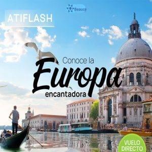 Vuela DIRECTO y conoce la Europa encantadora… Reserva Ya!!! con Viajes BEAUCE..