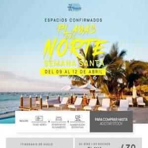 ESPACIOS CONFIRMADOS a Playas del Norte por Semana Santa.. Espacios Limitados!! con Viajes BEAUCE..