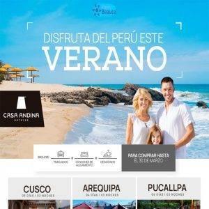 Disfruta del Perú este Verano con Casa Andina.. Reserva AHORA!! con Viajes BEAUCE..