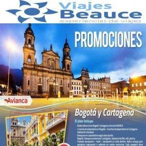 Disfruta de las siguiente promociones para Colombia con Viajes BEAUCE.