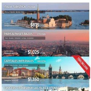 Disfruta de la Europa con las mejores oferta que te brinda Viajes BEAUCE.