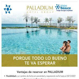 ¡¡¡Disfruta de los mejores Hoteles del PALLADIUN en el playa de Riviera Maya, Costa de Mujeres  con Viajes BEAUCE!!!