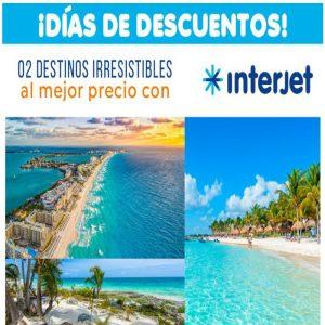 ¡¡ 02 Destinos Irresistibles al Mejor precio con Viajes BEAUCE!!