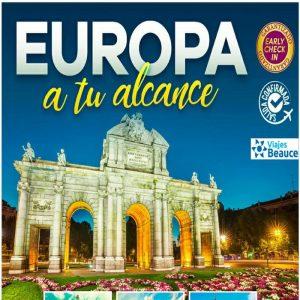 ¡¡ EUROPA a tu alcance con Viajes BEAUCE!!