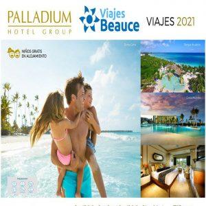 Disfruta de las mejores playa de caribe en la comodidad de los Hoteles Palladium con Viajes BEAUCE.