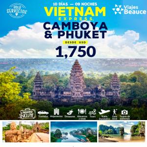 Disfruta de VIETNAM EXPRESS y vive la aventura de una vacaciones con Viajes BEAUCE